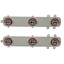 Dorman Tail Light Circuit Board - SET-RB923009-2 - Driver or Passenger Side, Plastic, Direct Fit, Set of 2