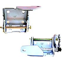 Dorman Door Hinge - SET-RB924102 - Front, Driver Side, Upper and Lower, Natural, Steel, Direct Fit, Set of 2
