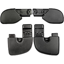 SET-RB924202-C Front and Rear, Driver and Passenger Side Plastic Bumper End, Primed