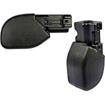 SET-RB924202 Front, Driver and Passenger Side Plastic Bumper End, Primed