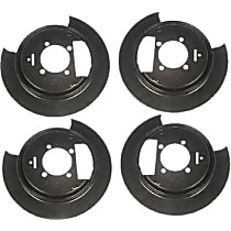 Dorman SET-RB924209-2 Brake Backing Plate - Direct Fit, Set of 4