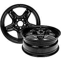 Black Finish Wheel - 17 in. Wheel Diameter X 7 in. Wheel Width