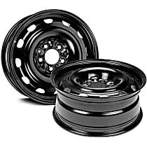 SET-RB939107-2 Black Finish Wheel - 16 in. Wheel Diameter X 6.5 in. Wheel Width