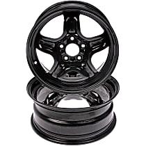 Black Finish Wheel - 16 in. Wheel Diameter X 6.5 in. Wheel Width