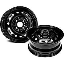 SET-RB939111-2 Black Finish Wheel - 15 in. Wheel Diameter X 6 in. Wheel Width