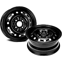 Black Finish Wheel - 15 in. Wheel Diameter X 6 in. Wheel Width