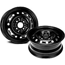 Black Finish Wheel - 15 in. Wheel Diameter X 6 in. Wheel Width