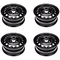 SET-RB939115-4 Black Finish Wheel - X