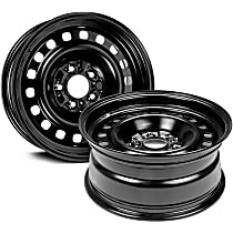 Black Finish Wheel - 16 in. Wheel Diameter X 7 in. Wheel Width