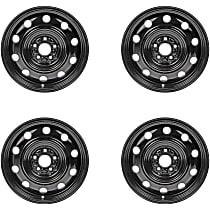 Black Finish Wheel - 17 in. Wheel Diameter X 6.5 in. Wheel Width