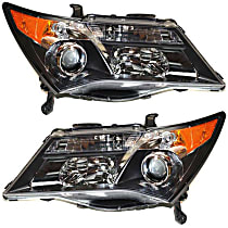 Driver and Passenger Side HID/Xenon Headlight, Without Bulb(s) - Models With Sport Package