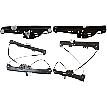 Window Regulator - Front and Rear, Driver and Passenger Side, Power without Motor