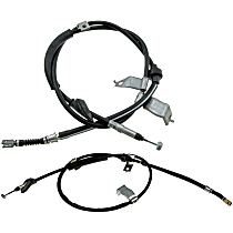 SET-RBC94405-R Parking Brake Cable - Direct Fit, Set of 2