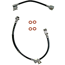 Brake Line, Rear, Driver and Passenger Side