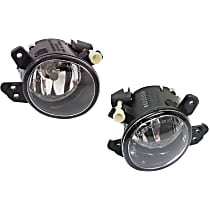 Fog Light Assembly - Driver and Passenger Side, Halogen, without AMG Styling Package