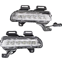 Driver and Passenger Side Driving Light, With bulb(s) - With RS Package