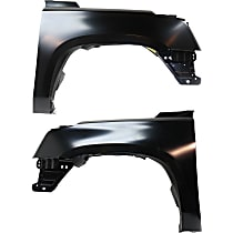 CAPA Certified Front, Driver and Passenger Side Fender
