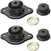Shock and Strut Mount - Rear, Driver and Passenger Side, Set of 2