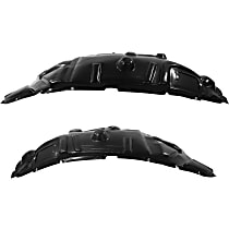 Fender Liner - Front, Driver and Passenger Side, Rear Section, Premium Type