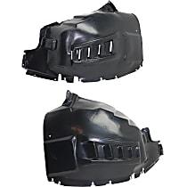 Fender Liner - Front, Driver and Passenger Side, without Fog Lights Holes