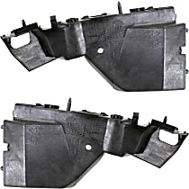 Front, Driver and Passenger Side Bumper Bracket - Cover Guide