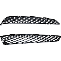 Driver and Passenger Side Bumper Grille, Primed