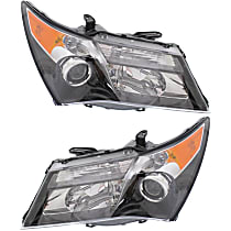 Driver and Passenger Side Halogen Headlight, Without bulb(s) - Models With Advance Package