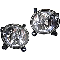 Fog Light Assembly - Driver and Passenger Side, CAPA CERTIFIED