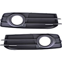 Fog Light Trim - Driver and Passenger Side, Black, with Black Trim, with Sport Package