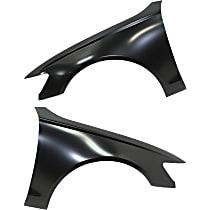 Fender - Front, Driver and Passenger Side, Aluminum