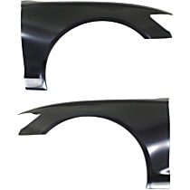 Fender - Front, Driver and Passenger Side, Aluminum, CAPA Certified