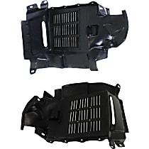 Fender Liner - Front, Driver and Passenger Side, Cover Liner