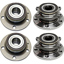 Wheel Hub Bearing included - Set of 4