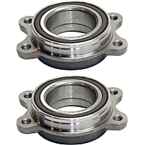 Wheel Bearing - Set of 2 Front or Rear, Driver and Passenger Side