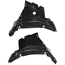 Fender Liner - Front, Driver and Passenger Side, Front Section