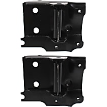Front, Driver and Passenger Side Bumper Bracket - Mounting Plate