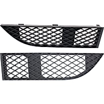 Driver and Passenger Side, Bumper Grille, Textured Black