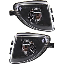 Fog Light Assembly - Driver and Passenger Side, with Glass Lens