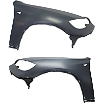 Fender - Front, Driver and Passenger Side, without Head Lamp Washer Hole