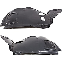 Fender Liner - Front, Driver and Passenger Side, Front Section, with M Package