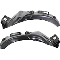 Fender Liner - Front, Driver and Passenger Side, Rear Section, Coupe
