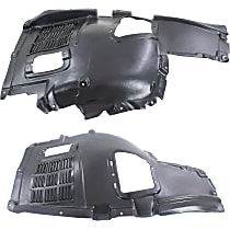 Fender Liner - Front, Driver and Passenger Side, Front Upper Section