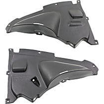 Fender Liner - Front, Driver and Passenger Side, Front Lower Section, Sedan/Wagon, Except M Sport Line Models