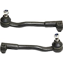 Tie Rod End - Front, Driver and Passenger Side, Outer