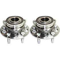 Wheel Hub and Bearing - Front or Rear, Driver and Passenger Side, AWD/FWD