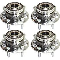 Wheel Hub and Bearing - Front and Rear, Driver and Passenger Side, AWD/FWD