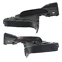 Engine Splash Shield - Driver and Passenger Side, Lower, Convertible