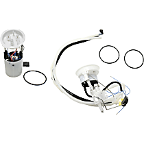 Electric Fuel Pump, Fuel Filter, Fuel Pressure Regulator With Fuel Sending Unit