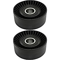 Replacement SET-REPB317404-2 Accessory Belt Idler Pulley - Direct Fit, Set of 2