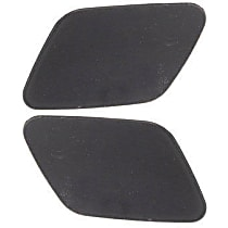 Replacement Headlight Washer Cover - SET-REPB371705 - Driver and Passenger Side, Direct Fit